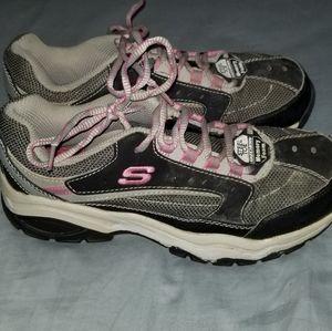 Women's steel toe Skechers
